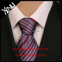 100% Handmade Perfect Knot Mens Wholesale Polyester Stripe Neckties