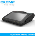 EKEMP(P10)Android Tablet POS Terminal with 58mm high speed thermal printer