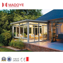 Fashional Style customized Color Aluminum Outdoor Glass Sun Rooms
