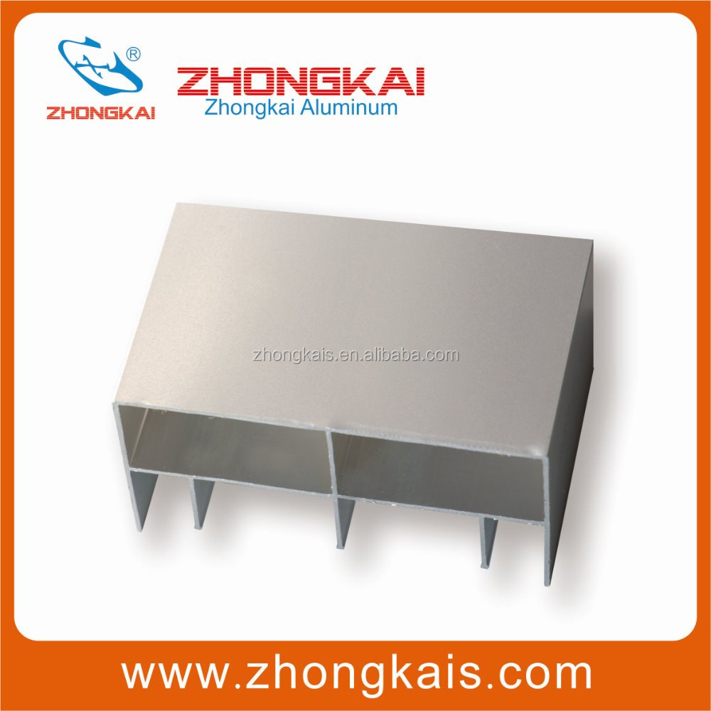 Global Customized Extuder Color Aluminum Alloy Profile Anodic Oxidation Aluminum Manufacturer
