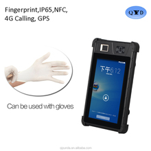 Cheapest 8'' inch Android7.0 Fingerprint Scanner Rugged Tablet Industrial rugged Tablet PC