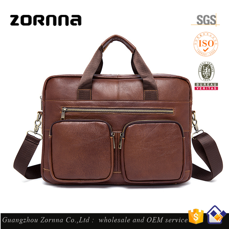 Vintage Most Popular Designer Leather Bags Handbag Men Tote