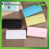 Hand shake power indicator Li polymer 12000mAh mobile power bank portable charger