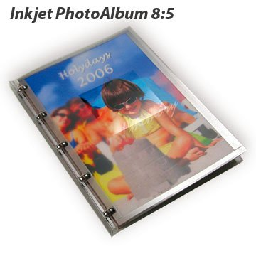 DIY Inkjet Photo Album (free design software ,enjoy do it yourself!)