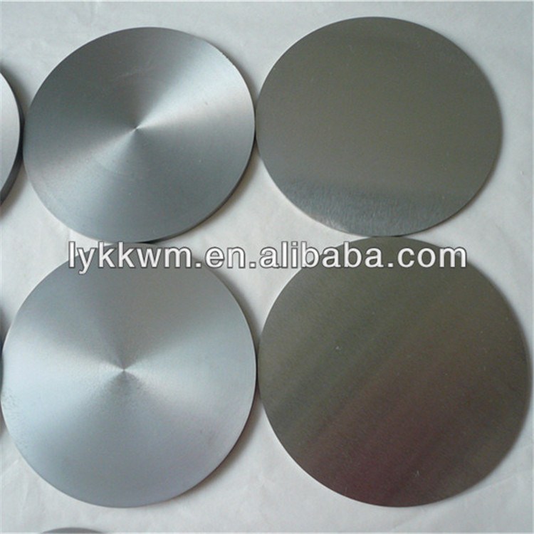 polished molybdenum disc ti sputtering titanium target good price