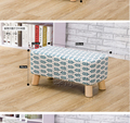 New products cheap bedroom wood ottoman bench