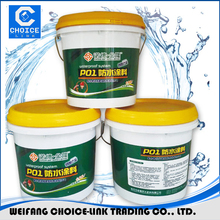 Polyurethane/Acrylic polymer waterproof coating for steel