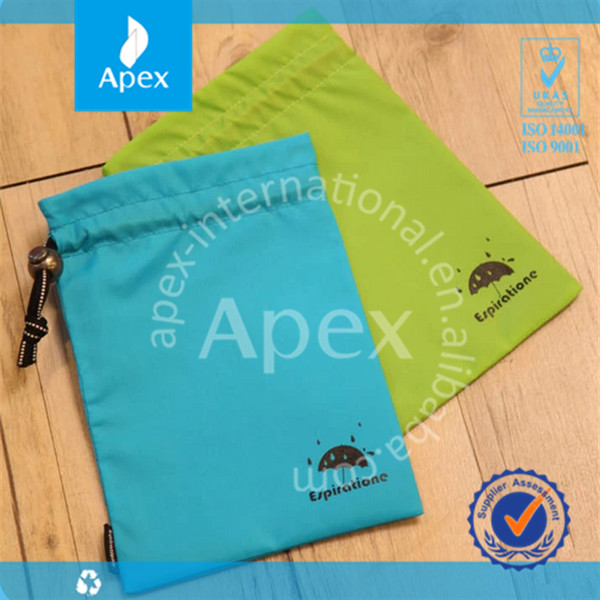2014 hot sale drawstring pvc waterproof phone bag