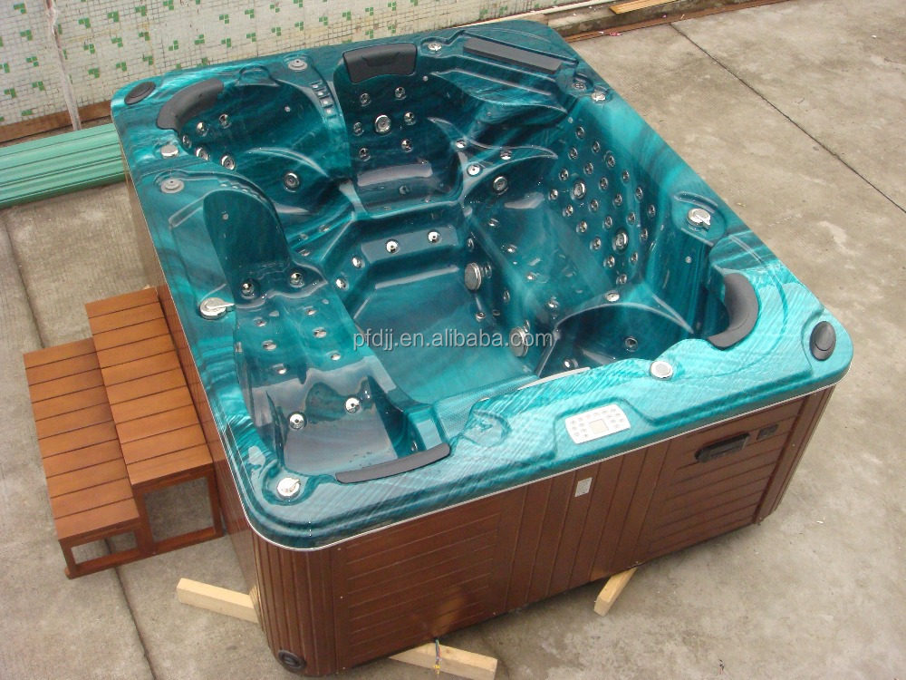 2.6m 15A Amperage with 5 Capacity balboa outdoor spa, hot tub