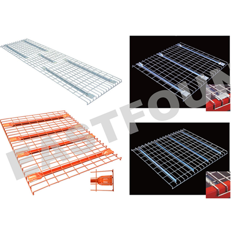 China Supplier Welded Wire Mesh Deck Railing Used For Pallet Racking ...