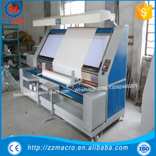high quality fabric inspection and rolling machine/fabric inspection and measuring machine