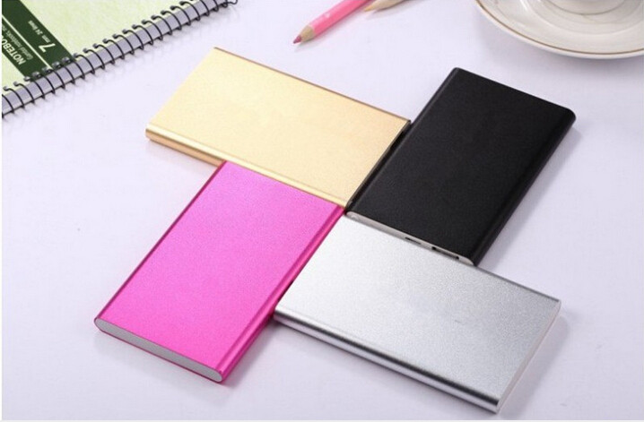 Slim Portable USB External Battery Charger Micro Extra USB Port Power Bank