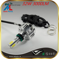 Top quality high brightness DC12V motorbike light 3000lm motorcycle led