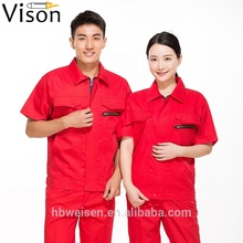100% cotton safety <strong>orange</strong> shirt Workwear Uniforms Industrial Factory clothing antistatic workwear