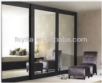 2014 new product aluminum profile glass pocket doors interior made in china