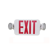 led light emergency exit sign indicator lamp fire safety emergency resistant exit sign indoor emergency commercial sign light
