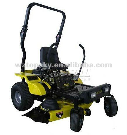 48-inch 20-HP Kawasaki V-Twin FR600V Zero Turn Riding Lawn Mower with Roll Bar