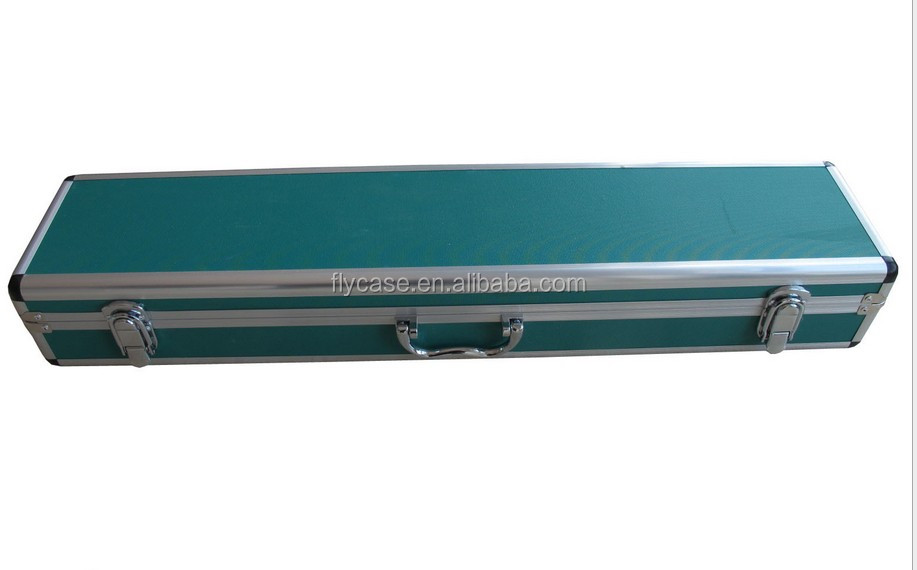 2015 popular round Corner aluminum gun carry case in aluminum case
