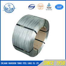 General tensile Strength Hard Drawn Electric Galvanized 0.6mm Galvanized Spring Steel Wire With All Size