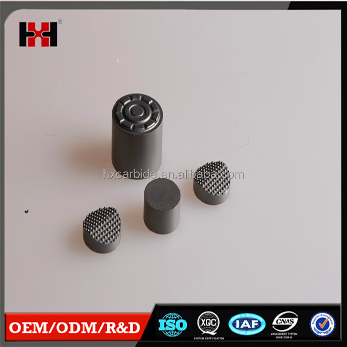 Customized High precision mining,ice,oil rig tungsten carbide plugs for hard rock drilling bits PDC tungsten carbide substrate