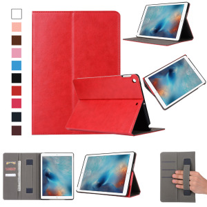 For iPad Case Auto Sleep Wake Up Flip high quality PU Leather Cover For New iPad Smart Stand Holder Folio Case
