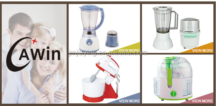 5 Speeds Electric Egg Mixer With Rotational Plastic Bowl