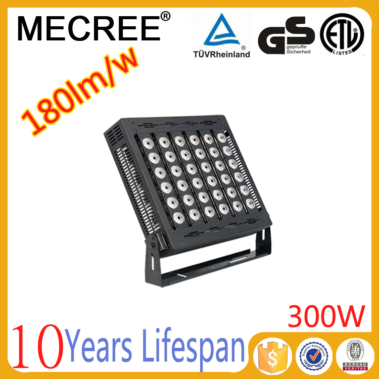 High power LED flood light 300w 350w super bright led light to replace halogen light/Metal halide