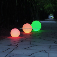 pool candles /glitter basketball led water ball