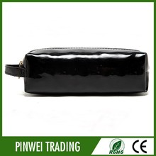 black patent leather cosmetic bag professional makeup artist bags