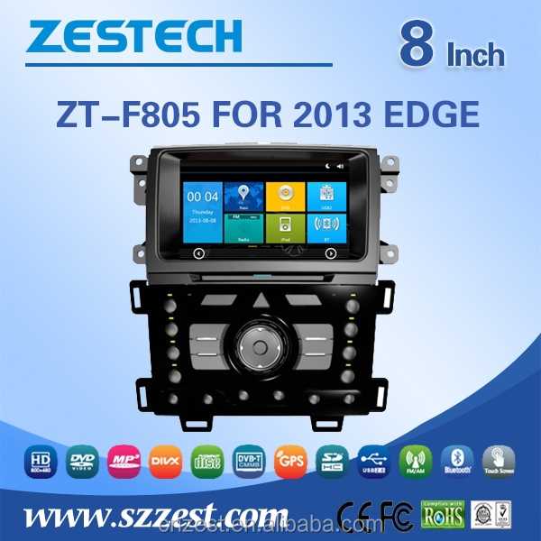 MOST PROFESSIONAL 3G car dvd for Ford EDGE 2013 car radio multimedia player