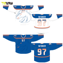 sublimated custom reversible team set hockey jerseys