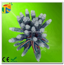 Full color ws2811 12mm led light strings led pixel light ip66 5v