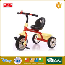 Zhorya Fashion plastic Kids slide baby tricycle Ride On Car toy