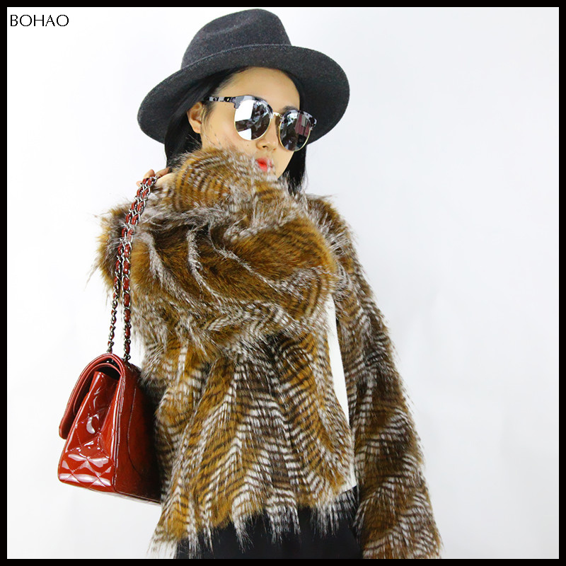 Hot selling fancy design womens winter coats with fur