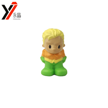 China Factory Soft Cartoon Character Toys DC Comics Aquaman Pencil Toppers