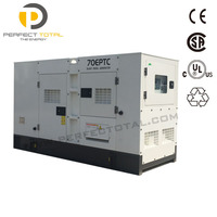 Soundproof enclosed type 500kw diesel generator price