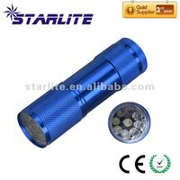 4.SFL-A121 Small 9 LED Torch Light