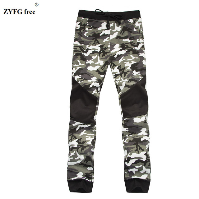 Men's Lounge pants camo pattern practice Fitness Sweat Pants