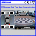 Seamless Surround View Parking and Driving Assist 360 Degree Car Bird View Camera System
