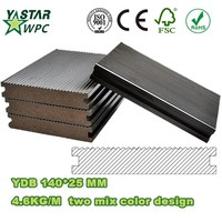 High Strong quality /Anti-Slip outdoor flooring /solid wpc decking