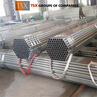 TSX-GI047 Hot dipped galvanized schedule 40 steel pipe / mild steel pipe with low galvanized iron pipe price