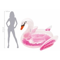 New 190cm giant swan inflatable floats unicorn inflatable float toy for kids and adult
