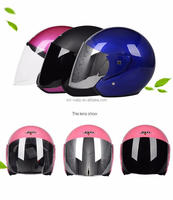 SCL-2016040064 OEM colors Bicycle Motorcycle helmet half face helmet