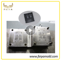 New products injection plastic mold moulding mobile phone accessories from mould maker