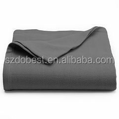 Super Soft 100% Polyester Printed Sherpa Fleece Throw Baby Blanket