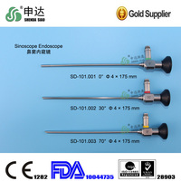 0/30/70 degree endoscope autoclavable rigid sinuscope