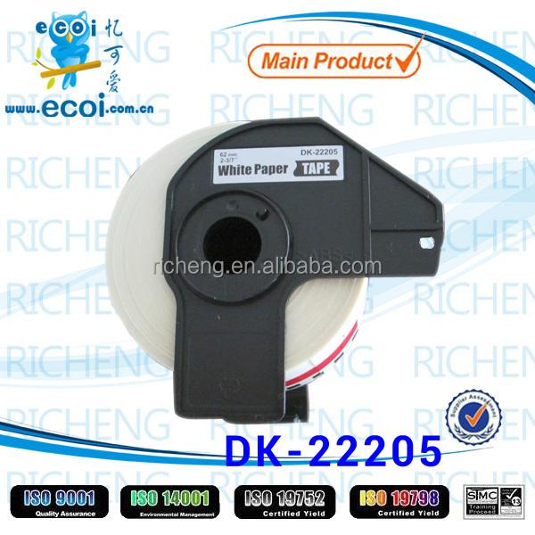 thermal printer ribbon paper dk22205