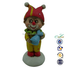 Resin clown figurine