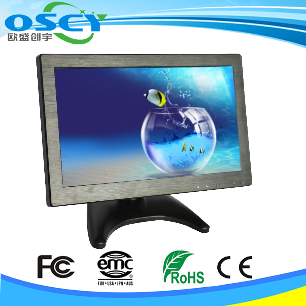 Vehicle 12 Inch Bus/car Cctv Lcd Screen Rear View Monitor