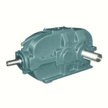 Speed precision forging product one input two output gearbox